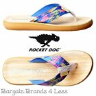 Womens Girls Rocket Dog Spotlight Rainbow Dye Fabric Flip Flop Sandal Beach Shoe