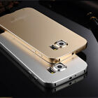 Luxury Pure Aluminum Metal Bumper Back Cover Case For Samsung Galaxy S6