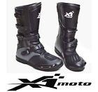 NEW motocross BOOTS Riding Dirt bike motor Moto MX SIZES 5 -12 Grey/black New