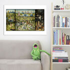 The Garden of Earthly Delights Hieronymus Bosch Vintage Print