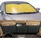 Sun Shade for windshield - CUSTOM Precision Cut - Silver or Gold - Nissan