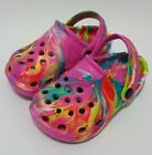 Toddler Boys Girls Color Clogs Garden Beach Pool Shoes.