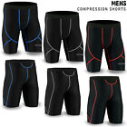 Mens Compression Tights Shorts Under Base Layer Sports Half Pants SIZE M to XL