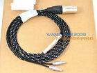 5M Amazing Balanced Upgrade Cable For HD800 Headphones XLR 4 Pins CANNON PLUG