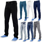 True Face Mens Slim Fit Stretch Denim Basic 5 Pocket Western Stretchable Jeans