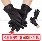 Ladies Women Winter Driving Gloves Glove Lamb Skin Leather