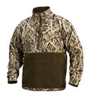 DRAKE Waterfowl MST EQWADER Plus Quarter ¼ Zip Mossy Oak Shadow Grass JacketCoats & Jackets - 177868