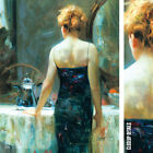 """28W""""x35H"""" LATE NIGHT TEA by PINO DAENI - CHOICES of CANVAS"""