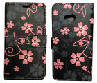 Pattern Flip Leather Wallet Case For Samsung Xperia Nokia HTC Motorola Vodafone