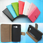 For MEO Smart A80--Wallet Folder Stand Flip PU Leather Case Cover 4G LTE