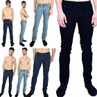 Mens Designer Brand Original Stretch Cotton Tapered Regular Slim Fit Jeans Pant