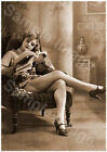 Vintage 108 1920's Erotic Female Nude Sepia Retro PHOTO REPRINT A4 A3 or A2 Size