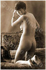 Vintage 102 1920's Erotic Female Nude Sepia Retro PHOTO REPRINT A4 A3 or A2 Size