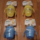 2 PACK Philips Avent Magic Cup with Handles Non-Spill Easy Sit BPA FREE 7 OZ