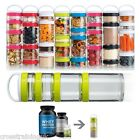 Blender Bottle Go Stak Starter Pak On the Go durable containers jars-ALL COLOURS