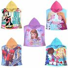Disney / Character 120x60cm Bath Poncho Swimming Beach Holiday Towel