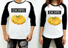 UNISEX Banana Dope Summer Women Men White Shirt Long Sleeve 3/4 Raglan TShirt
