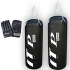3,4, FT Filled Punch Bag Rex Leather Kick Boxing Punching Punch Bag  FREE MITTS