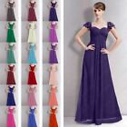 Bridesmaid Dress Long Sweethear Neckline Prom Wedding Gowns Party Evening Formal