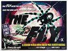 The Fly 1958 Film Canvas Wall Art Movie Poster Print Al Hedison Sci-Fi Horror