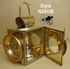 Vintage Car Railway Oil Lamp Lantern Carriage Lamp Reproduction