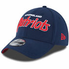 New Era New England Patriots Navy Script Sign Classic 39THIRTY Flex Hat