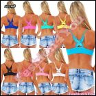 Sexy Ladies Fitness Top Womens Casual Summer Jogging Top One Size 6,8,10,12 UK