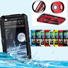Latest Durable Aluminum Metal Waterproof Gorilla Glass Case Cover For HTC One M8