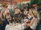 Pierre Auguste Renoir Luncheon of the Boating Party Vintage Fine Art Print