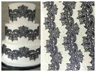 3 x EDIBLE LACES FOR CAKES/CUPCAKES - WEDDING, BIRTHDAY,NEW YEAR, EASTER