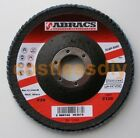 Abracs ABFZ115B120 115mm Zirconium Flap Discs 120g For Metal Stainless Steel