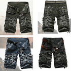 HOT Casual Outdoor Summer Bottom Knee Length Mens Shorts Leisure Pants UK Stock