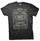 Vintage Aged To Perfection 1955 - Distressed Print - 60th Birthday Gift T-shirt
