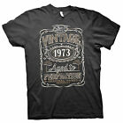 Vintage Aged To Perfection 1973 - Distressed Print - 42nd Birthday Gift T-shirt