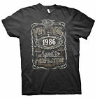 Vintage Aged To Perfection 1986 - Distressed Print - 29th Birthday Gift T-shirt