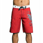 Affliction Men's Royale Rust Board Shorts Red  101BS101