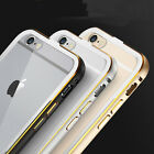 Luxury Aluminum Ultra-thin Case Cover Back for Apple iPhone 5S 6/6 Plus 5.5""