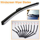 "Car Track Auto Flat Upgrade Frameless Rubber Windshield Wiper Blade 14 16-26"" AU"