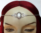 CELTIC Triquetra Trinity Medieval RENAISSANCE Circlet BRIDAL Crown Headpiece NEW