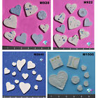 ASSORTED SIZE HEARTS - HANDMADE, CERAMIC MOSAIC TILES ( Pick you Group) #5