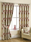 Lily Chintz Luxury Heavyweight Floral Design Fully Lined Curtains by Belfield