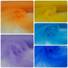 Soft tulle veiling net fabric - various colours (Per Metre) wedding decoration