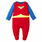 Mothercare Baby Newborn Girl's Wonder Woman All in One