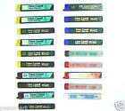 Faber Castell pencil leads 0.3, 0.5, 0.7 & 0.9mm black grades + blue red & green