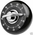 Judge Wind Up Mechanical 60 Minute Kitchen Cooking Timer Red Or Black