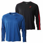 Asics Essentials Long Sleeve Mens Running Training Shirt Tee