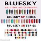 Esmaltes Permanentes Bluesky gel UV/LED  Clasicos, base, top, aceite  -- OFERTA