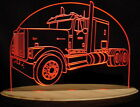 "Semi Truck IH 9300 Edge Lit 11-13"" Lighted Sign LED Plaque mi VVD19 USA Original"