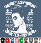 SANTA MURTE MEXICAN LADY TATTOO COOL Singlet Ladies Men's Size funny Women's top