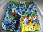 SPONGEBOB SWIM SHORTS - SZS 4/5, 6/7 - NEW